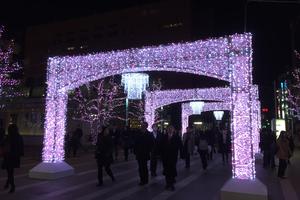 博多駅桜イルミネーションのサムネイル