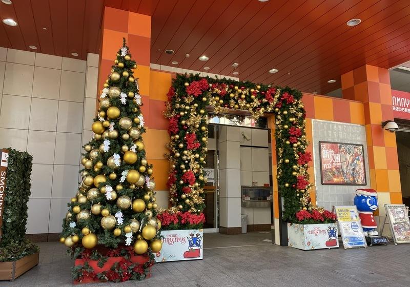 玉屋本店クリスマスツリー